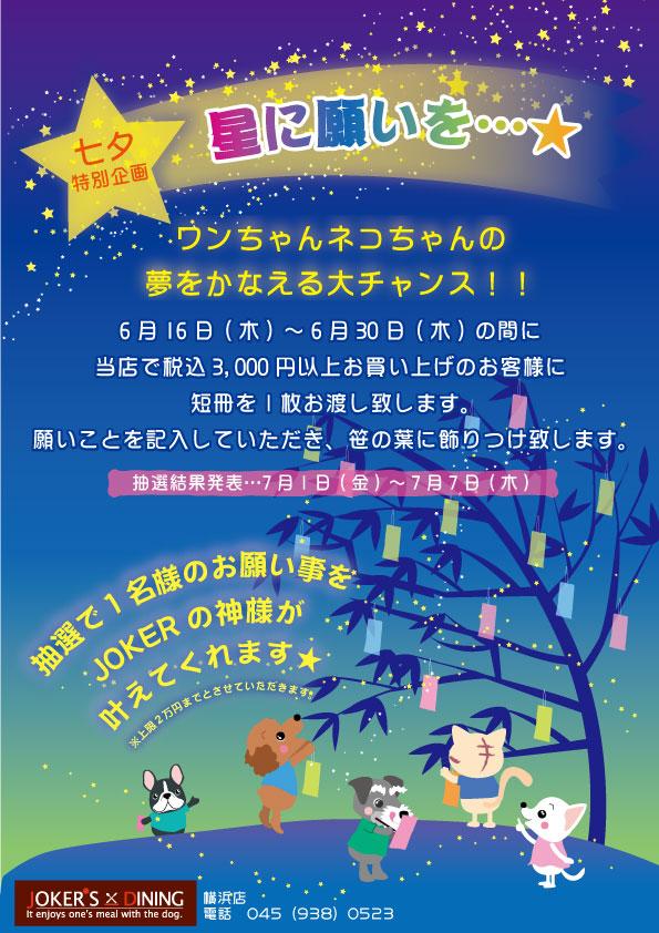 星に願いを1106鴨居ダイニン.jpg